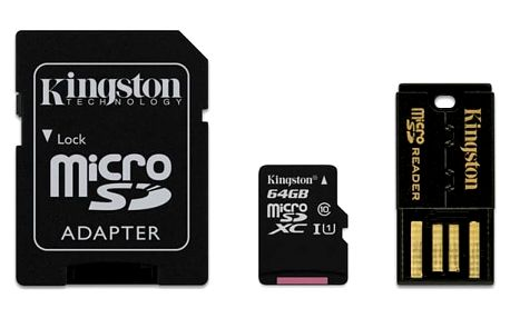 Paměťová karta Kingston Mobility Kit 64GB UHS-I U1 (30R/10W) (MBLY10G2/64GB)