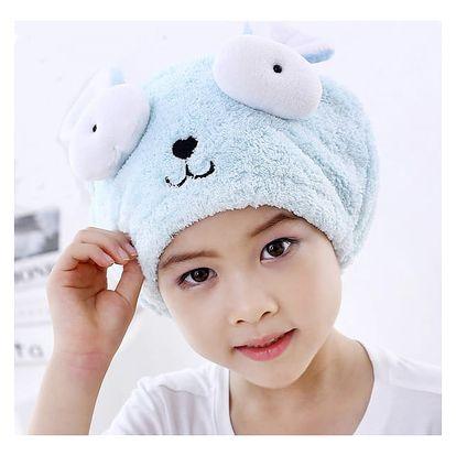 Dětský ručník na vysoušení vlasů