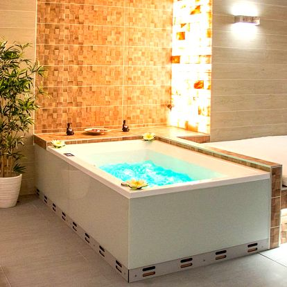 Privátní spa se saunou a Kleopatřinou koupelí