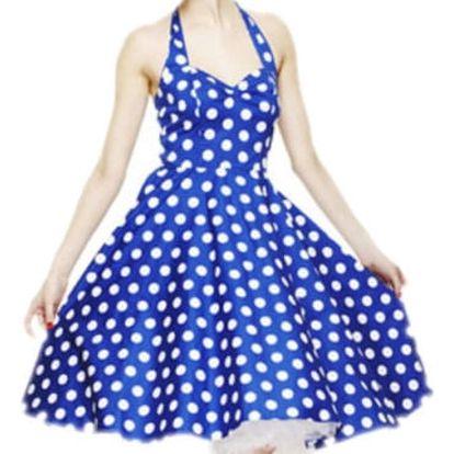 Dámské šaty v retro stylu - 3 barvy