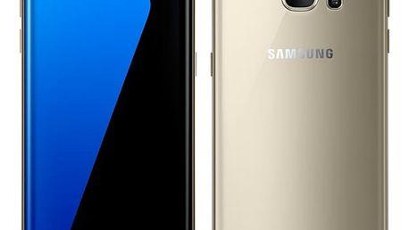 Mobilní telefon Samsung Galaxy S7 edge 32 GB (G935F) zlatý + dárek (SM-G935FZDAETL)