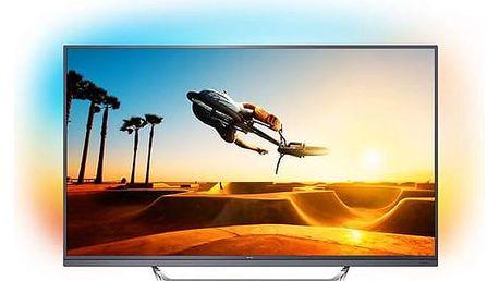 Televize Philips 65PUS7502 titanium + Doprava zdarma