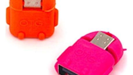 Praktický OTG Adaptér USB k tabletům a mobilům. Výběr z několika barev.