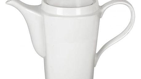 Porcelánová konvice na čaj nebo kávu