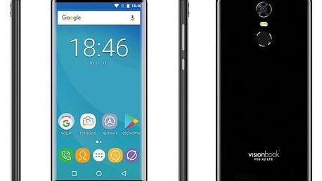 Mobilní telefon Umax VisionBook P55 X2 LTE (UMM200P52) černý Software F-Secure SAFE, 3 zařízení / 6 měsíců v hodnotě 979 Kč