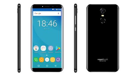 Mobilní telefon Umax VisionBook P55 X2 LTE černý + dárek (UMM200P52)