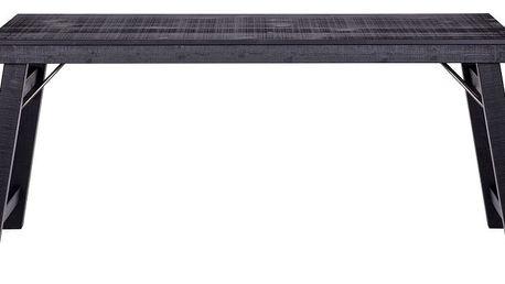 Černý psací stůl De Eekhoorn Klap