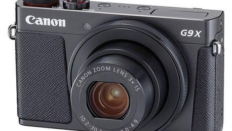 Digitální fotoaparát Canon PowerShot PowerShot G9 X Mark II Black černý + dárek (1717C002)
