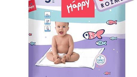 6x BELLA HAPPY Dětské přebalovací podložky 5ks