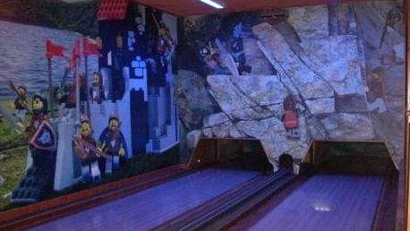 1-2 hodiny bowlingu v Brně až pro 10 osob