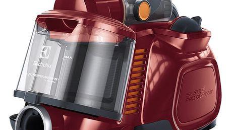 Vysavač podlahový Electrolux SilentPerformer Cyclonic ESPC72RR červený