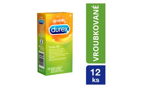 DUREX Tickle Me kondomy (12 ks)