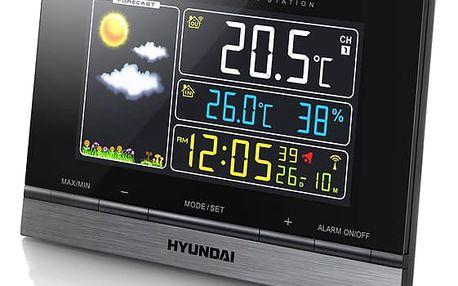 Meteorologická stanice Hyundai WS 2303 černá