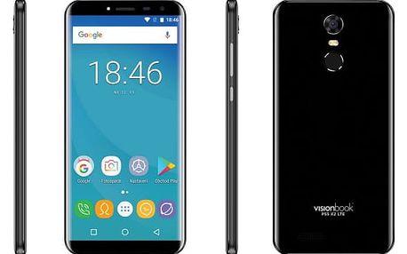 Mobilní telefon Umax VisionBook P55 X2 LTE (UMM200P52) černý