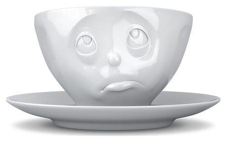 Bílý hrnek na kávu 58products Oh please