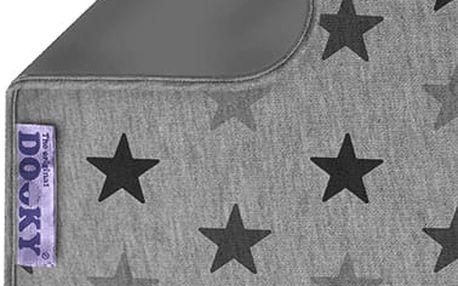 DOOKY Blanket deka Grey Stars/Grey 70x85 cm