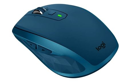 Myš Logitech MX Anywhere 2S - midnight teal (/ Darkfield / 7 tlačítek / 4000dpi) (910-005154)