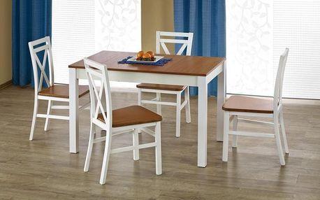 Dřevěný jídelní stůl Ksawery olše