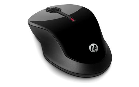 Myš HP Wireless Mouse X3500 černá (/ optická / 3 tlačítka / 1000dpi) (H4K65AA#ABB)