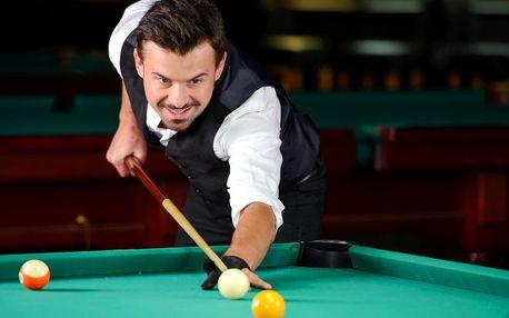 Až 2 hodiny karambolu nebo billiardu