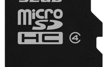 Paměťová karta Kingston MicroSDHC 32GB Class4 (SDC4/32GBSP)