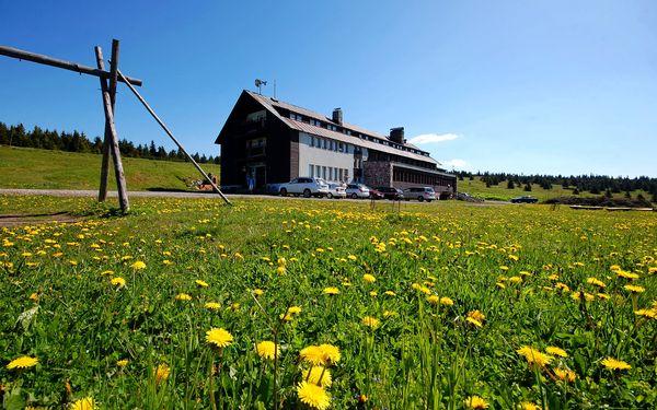 Letní dovolená pro páry na Dvorské boudě jen 7 km od Sněžky. Sauna a zapůjčení kola v ceně!