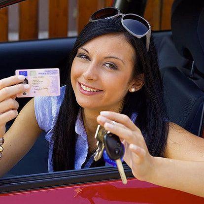 Rezervace autoškoly: řidičský průkaz sk. B