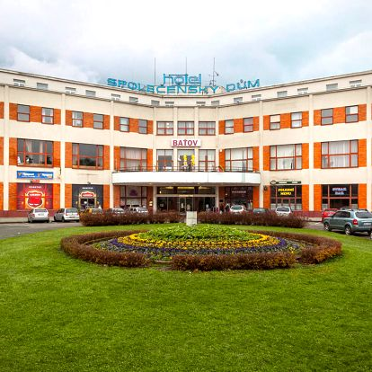 Hotel Baťov*** u zlínského Baťova kanálu s polopenzí