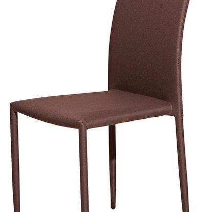 Jídelní židle PARMA hnědá