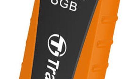 USB Flash Transcend JetFlash 810 8GB oranžový (TS8GJF810)
