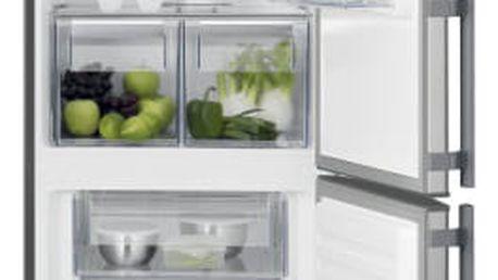 Kombinace chladničky s mrazničkou Electrolux EN3601MOX nerez