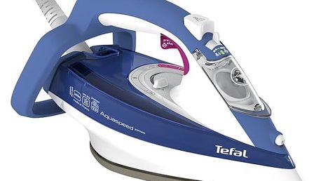 Žehlička Tefal Aquaspeed Precision FV5540E0 bílá/modrá