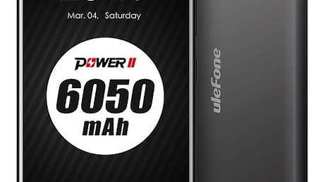 Mobilní telefon UleFone Power 2 Dual SIM černý + dárek