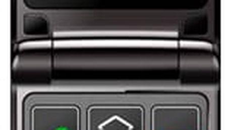 Mobilní telefon MaxCom Comfort MM822 Single Sim černý (MM822BKSS)