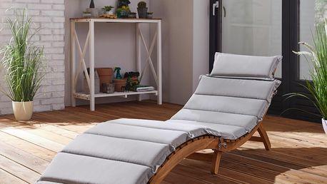 Relaxační lehátko bora, 186/54/56 cm