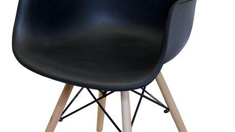 Jídelní židle DUO černá