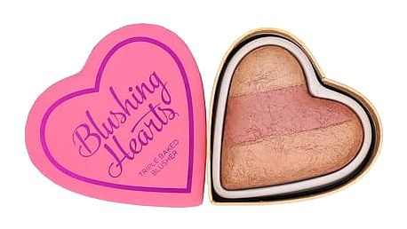 Makeup Revolution London I Heart Makeup Blushing Hearts 10 g tvářenka Peachy Keen Heart W