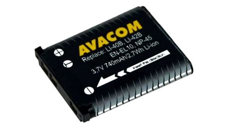 Baterie Avacom pro Olympus Li-40B/Li-42B/Fujifilm NP-45/Nikon EN-EL10 Li-ion 3,7V 740mAh (DIOL-LI40-AVA)