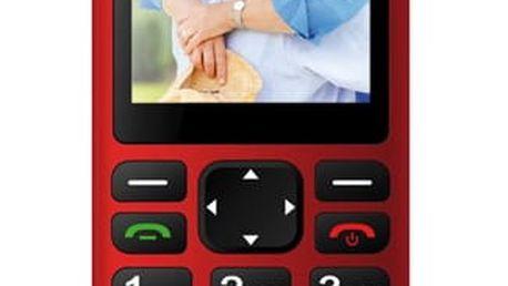 Mobilní telefon CPA Halo PLUS červený (TELMY1017RE)