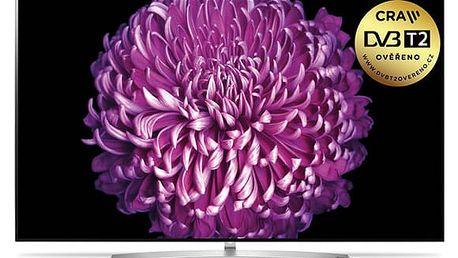 Televize LG OLED55B7V stříbrná