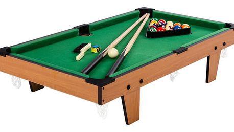 Tuin 40440 Mini kulečník pool s příslušenstvím 92 x 52 x 19 cm - světlý