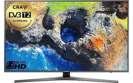 Televize Samsung UE65MU6452 titanium + dárek Blu-ray přehrávač Samsung BD-J5500 bílý + DOPRAVA ZDARMA