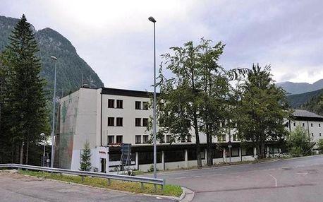 Itálie - Sella Nevea / Bovec na 8 dní, polopenze s dopravou vlastní