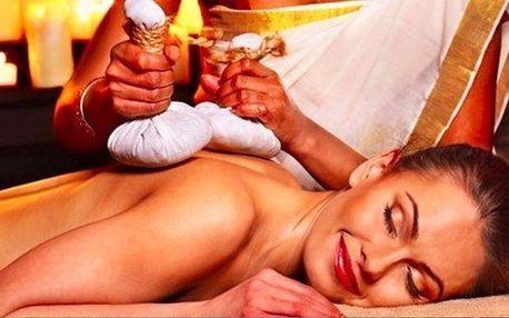 Terapeutická masáž s prvky akupresury a zábalem