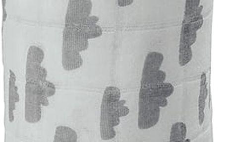 LODGER Multifunkční osuška Swaddler Cotton – Grey