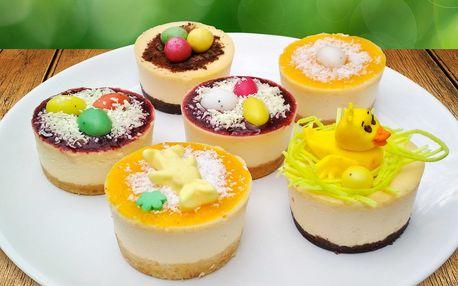 6 výtečných minicheesecaků z poctivých surovin