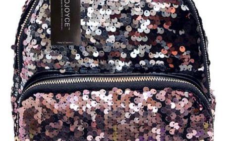 Dámský batoh s flitry - 3 barvy