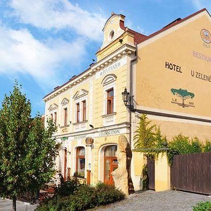 4denní velikonoční pobyt pro 2 s polopenzí v hotelu u Zeleného stromu na Plzeňsku