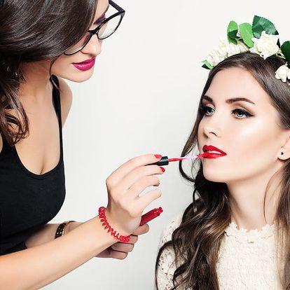 Líčení od make-up artistky na jakoukoliv událost
