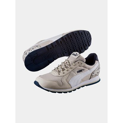 Boty Puma ST Runner Speckles Oatmeal- White Bílá